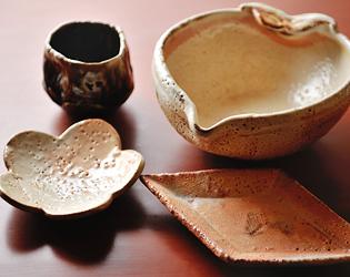 板前男児,千曲乃湯しげの家,吉池照明,手作り陶器